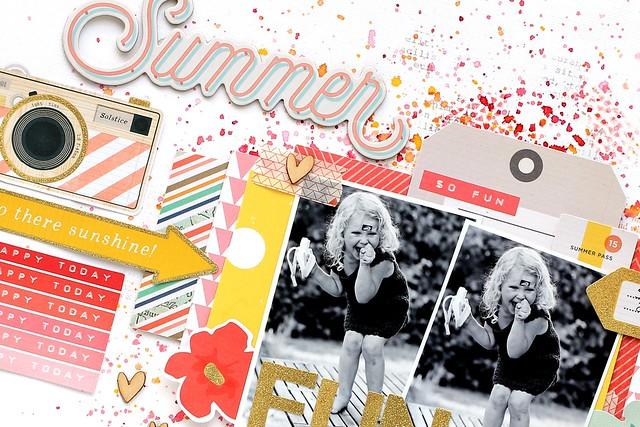 Summer fun closeup