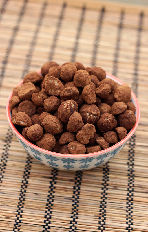Cocoa Dusted Macadamia Nuts - Gluten-free, Vegan + Refined Sugar-free