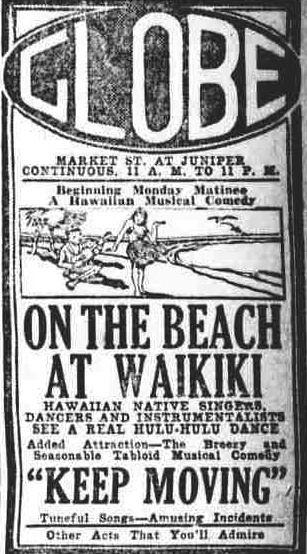 On the Beach at Waikiki