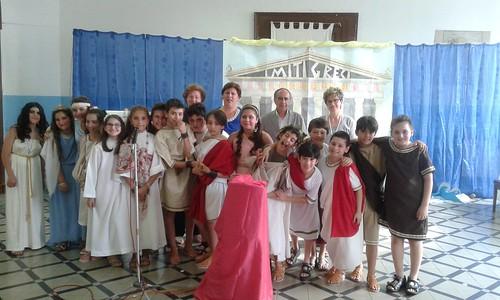 recita i miti greci scuola mazzini