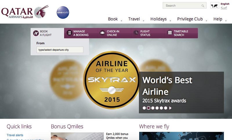 Qatar Airways Deals Promocodes Cashback