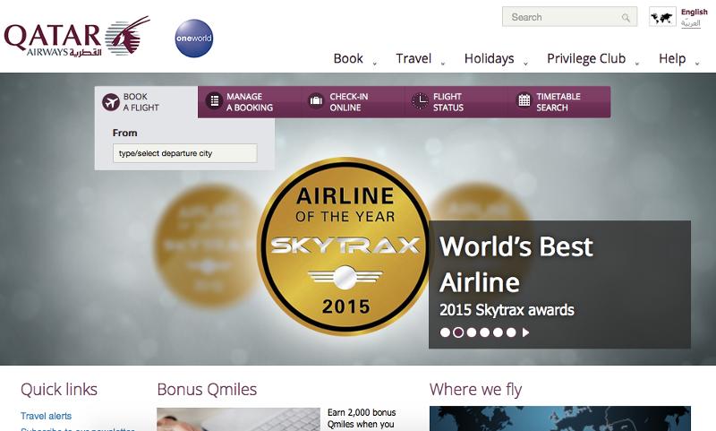 Qatar Airways Deals Promocodes Cashback