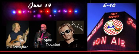 J. Christopher, Mike Downing, Jeff Sable 6-19-15