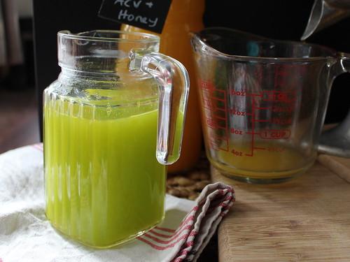 Minted orange 'tea'