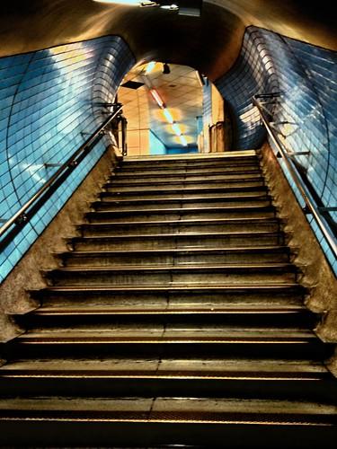 Embankment Tube Station Steps