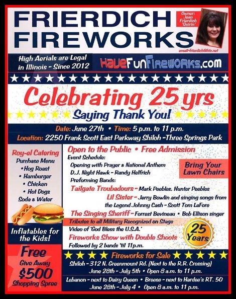 Frierdich Fireworks 6-27-15