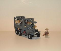 Austin K6 Gantry wrecker by LegoEng