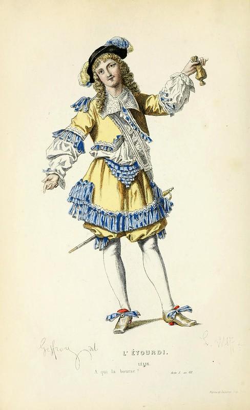001- El mareo -Oeuvres completes ornee de portraits en pied colories…1871- Moliere