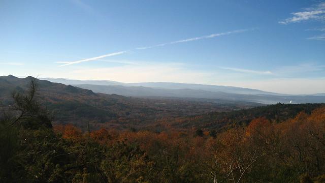 Vistas en el PR-G 4 Camiño Real San Pedro de Rocas