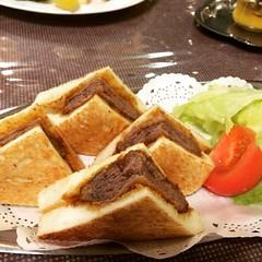 super tender beef katsu sandwich #harijyu #katsu #osaka #はり重グリル