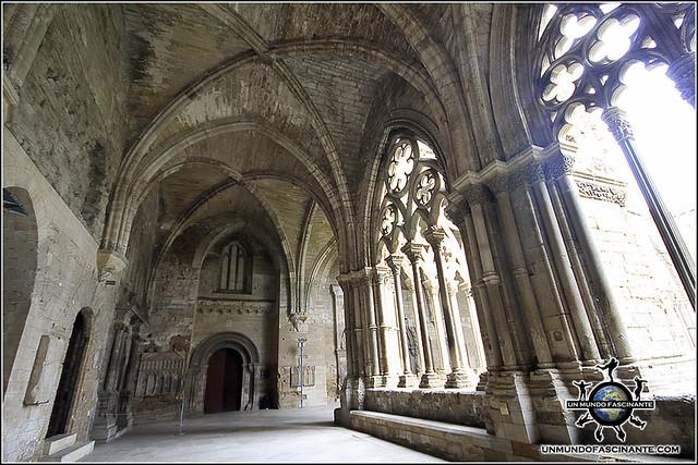 Claustro de la Catedral de Lleida. Cataluña. España.