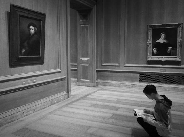 Rembrandt reflection