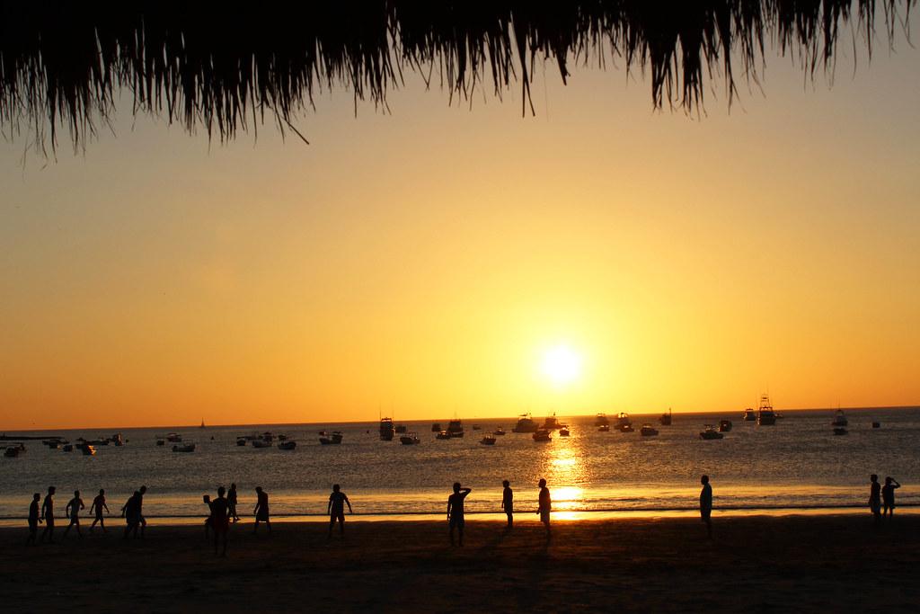 Image of a beach of San Juan del Sur, Nicaragua
