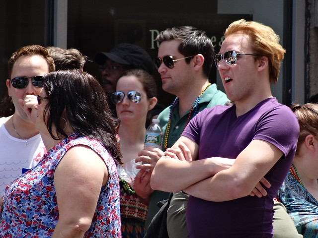 Boston Pride 2015 - Not Nic Cage