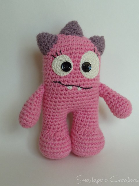 Amigurumi En Monsters : Smartapple Creations - amigurumi and crochet: Huggy monsters