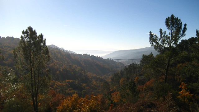 Vistas en el Camiño Natural do Río Barbantiño