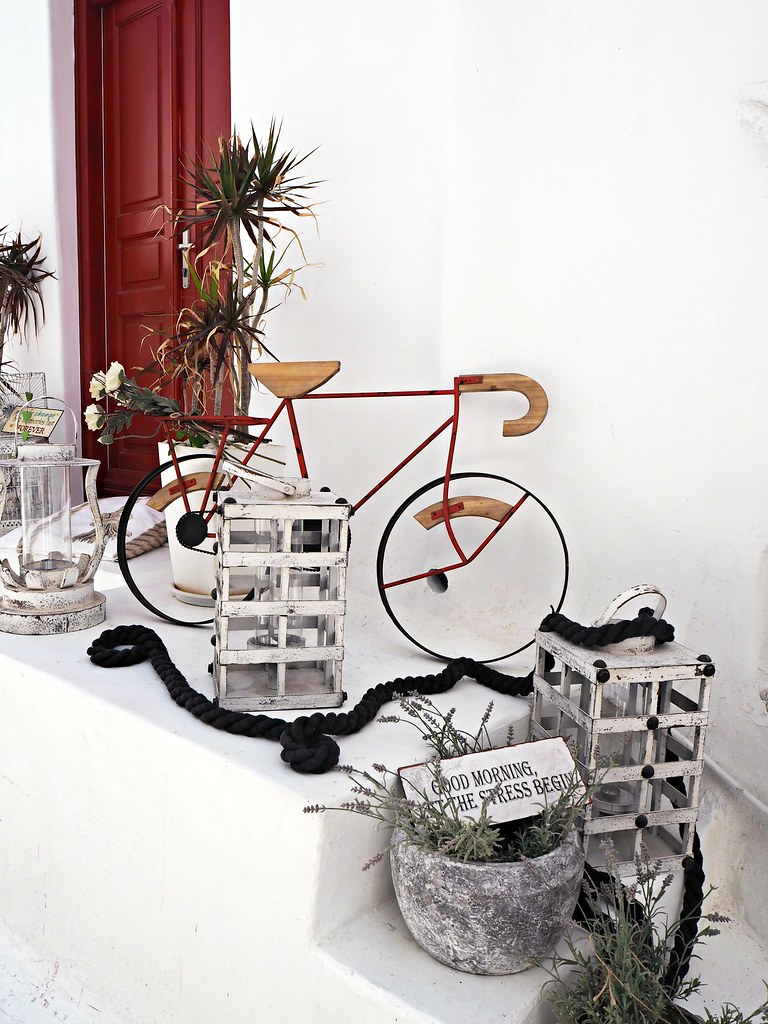 Mykonos white streets