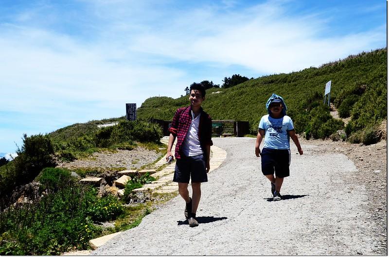 合歡山登山步道口