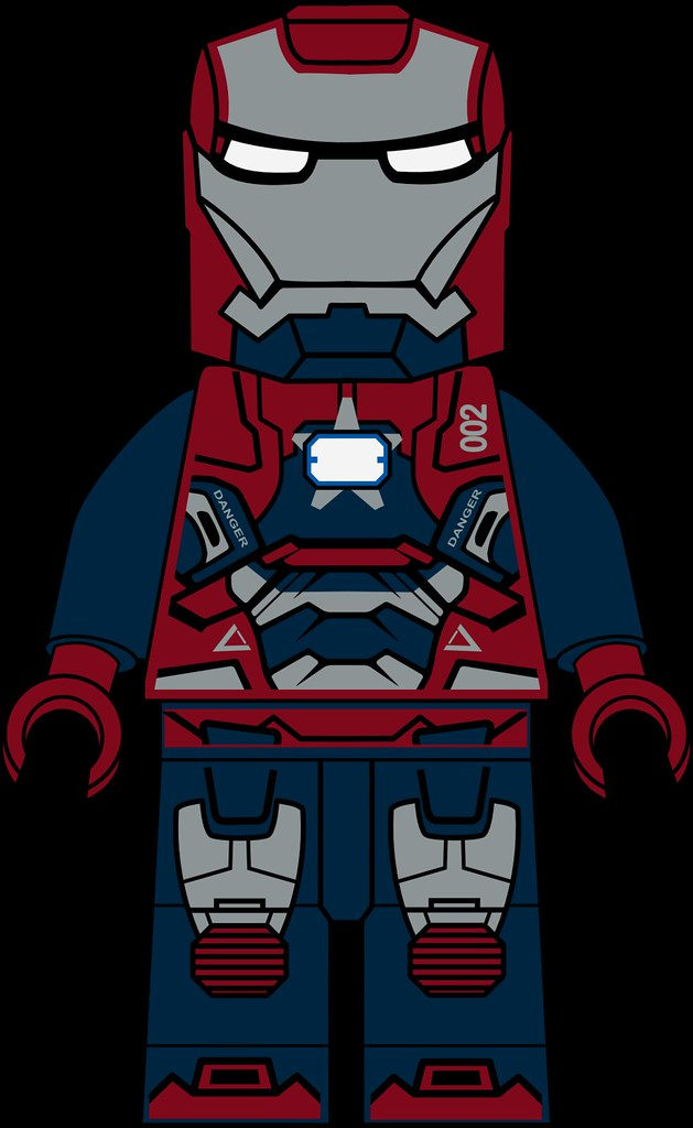 Iron Patriot Lego Iron Patriot Osborn by