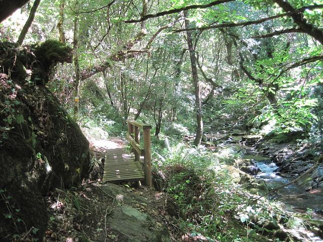 Pasarela de la ruta Val de Cambás