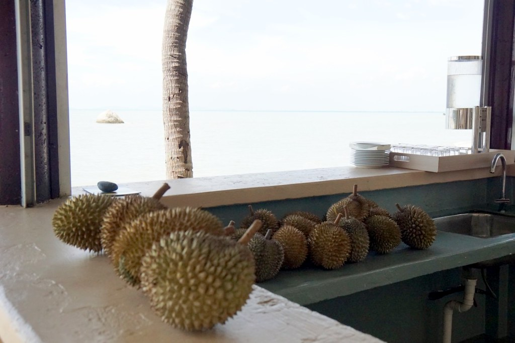 durian buffet by the sea - sheraton four points Penang