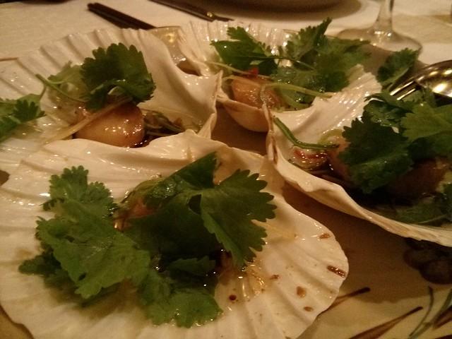 vieiras - cocina vietnamita - hanoi - barcelona
