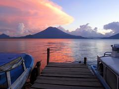 lago de atitlán, guatemala by kwantada
