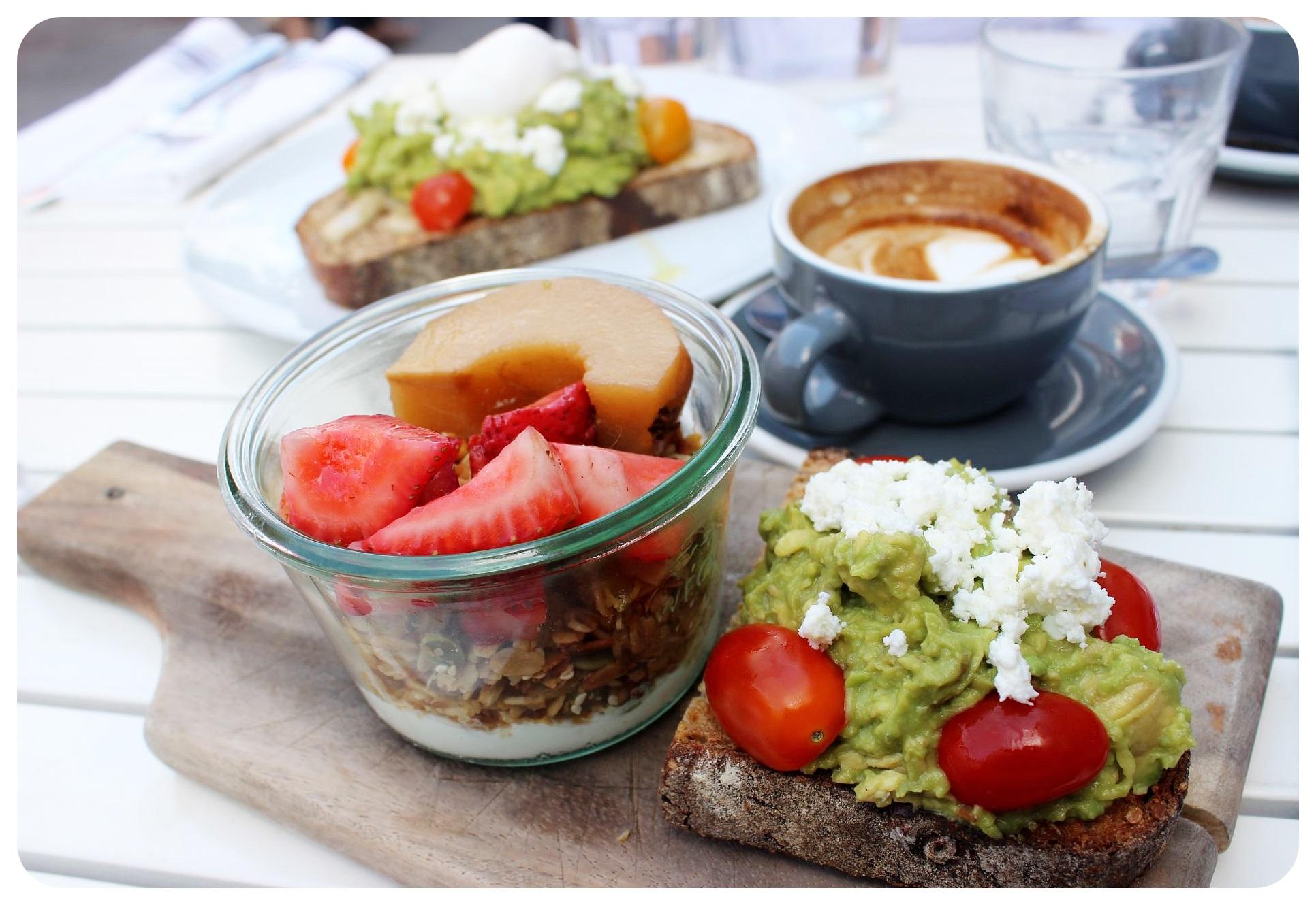new york blue lane coffee breakfast
