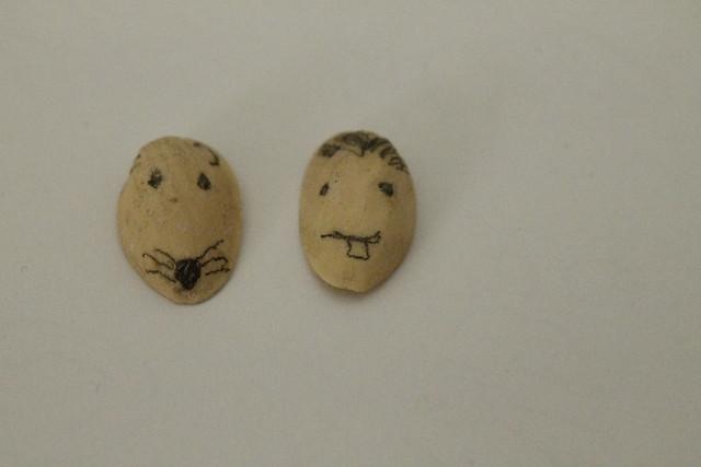 caras de pistachos