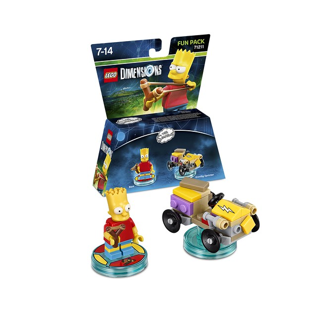 LEGO Dimensions Amazon: The Simpsons 71211 - Bart Simpson Fun Pack