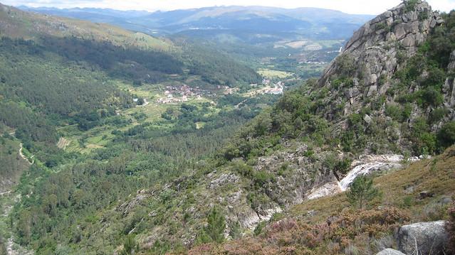 Panorámica en el Sendeiro da Corga da Fecha en el Parque Baixa Limia-Serra do Xurés