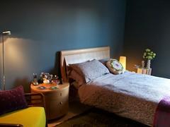 blue bedroom by FloxP
