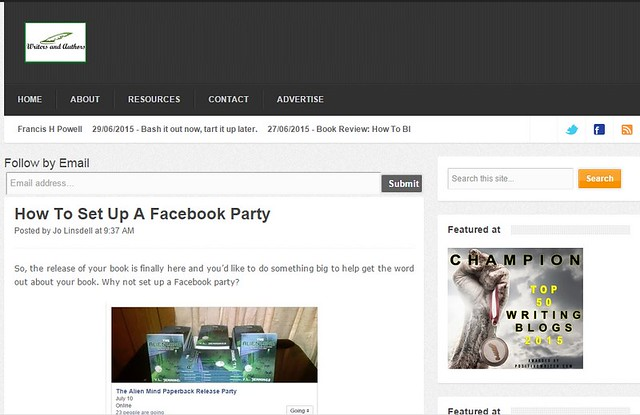 How to set up a facebook party