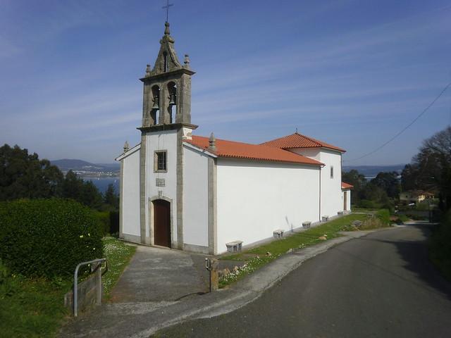 Iglesia de Carnoedo en Sada