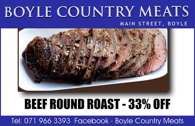 Beef Round Roast