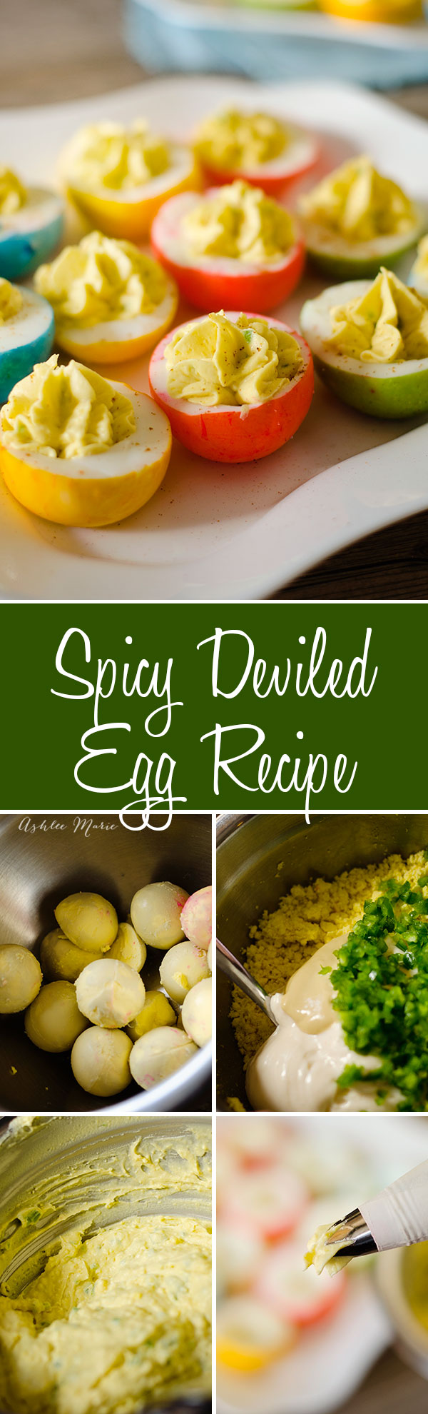 recipe for spicy deviled eggs, even my kids love this recipe