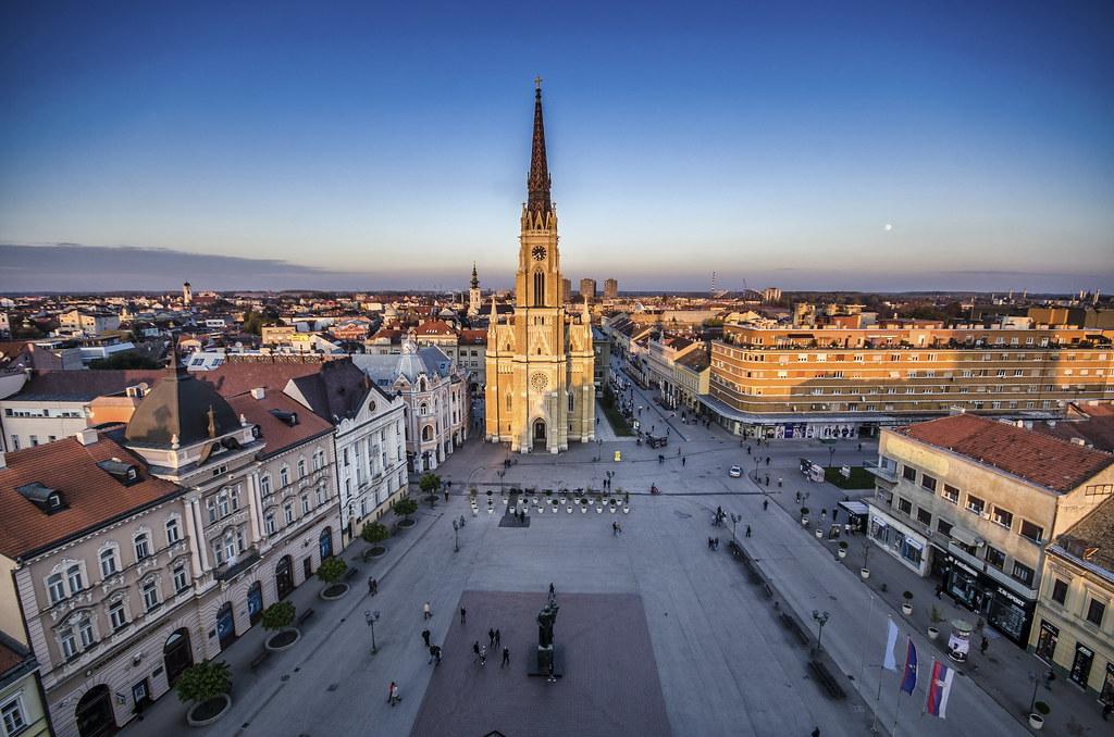 Novi Sad Gradski Gradski Trg Novi Sad Flickr