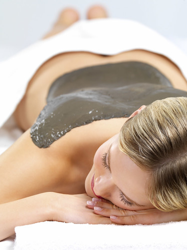 Beauty treatment at the day spa