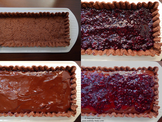 tarta cu mure si ciocolata