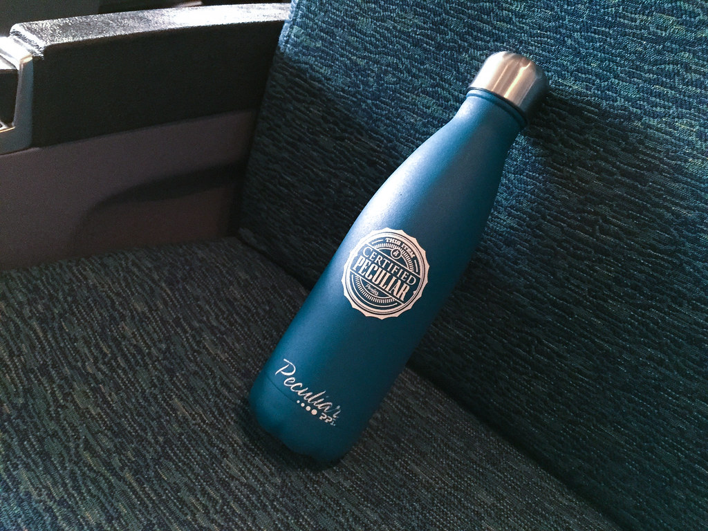 Bottle on the Train