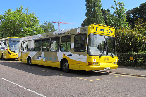 Yellow Buses Bournemouth DL473 P473BLJ Training Bus