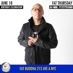 6/18 -  Fat Buddha for Fat Thursday / DJ NA Bday Jammy Jam