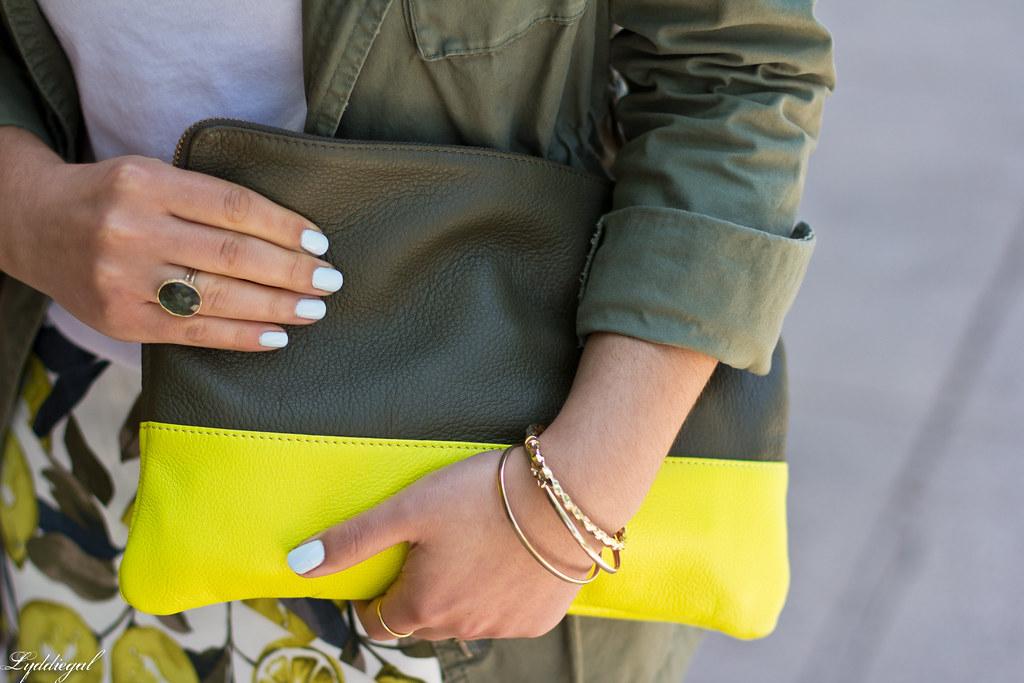 lemon print skort, utility jacket, white tee-6.jpg
