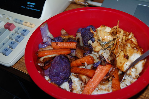 Dinner (Purple Cauliflower)(Jan 1 2014)