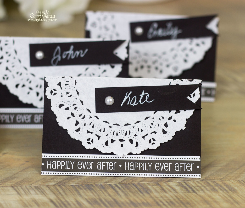 Wedding Placecards by Corri