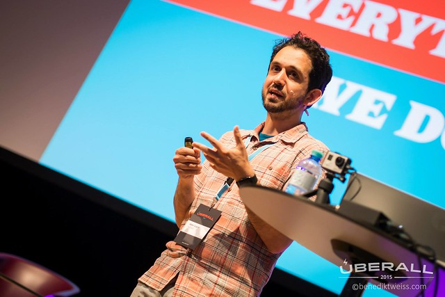 Presenting at ÜBERALL in Vienna