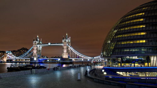 Tower Bridge & City Hall, London