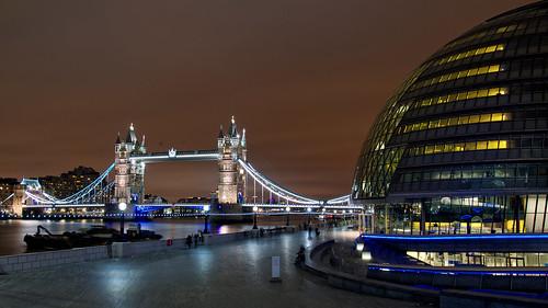 Tower Bridge & City Hall, London