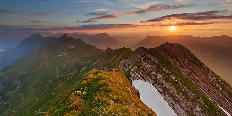 Sunset - Brienzer Rothorn