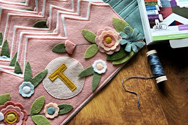 Aurifil Floss Stitching